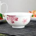 お茶碗 桜 ボーンチャイナ 食洗機対応 ( 茶碗 飯碗 和食...
