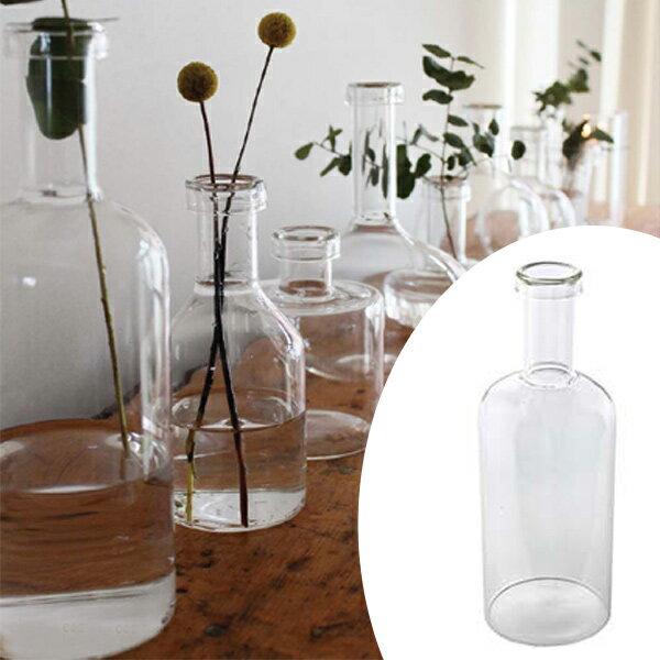 フラワーベース LABO GLASS F ( 花瓶 ガラスベース エアプランツ 鉢 透明ガラス ガーデン雑貨 ガーデニング )