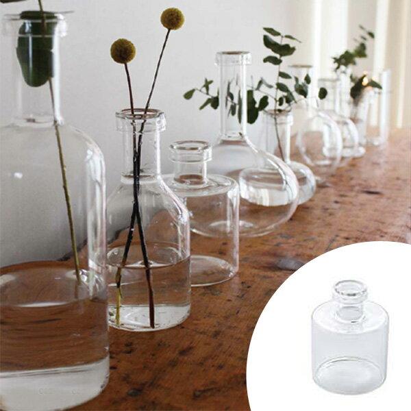 フラワーベース LABO GLASS G ( 花瓶 ガラスベース エアプランツ 鉢 透明ガラス ガーデン雑貨 ガーデニング )
