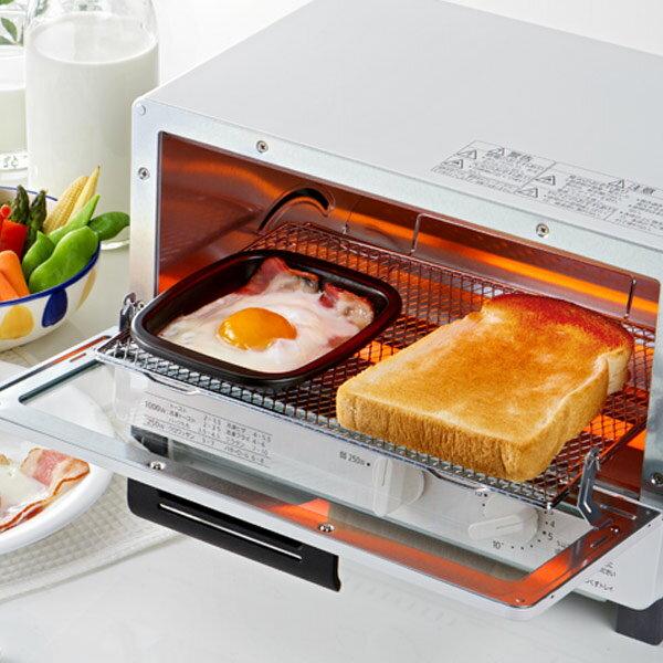 トースタートレーオーブントースタートレー小丸型フッ素加工アルミ製(クッキングトレイオーブントレー調理