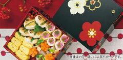 弁当箱HAKOYA和風柄三段重朱華文様梅お弁当箱