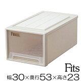 最终的塑料储存情况!小寒小寒Fittsukesukurozetto衣柜壁橱贮存箱储存盒适合案例适合飞马服装小寒小寒Fittsukesu Fittsuke[収納ケース Fits フィッツケースクローゼット M−30(馬 衣類収納 クローゼット収納 Fit''s