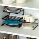 食器ラック ディッシュラック 3段 ファビエ FV36 ( Favie シンク下 皿 キッチン 収納 お皿 食器 ラック 食器立て 皿立て 整理 食器棚収納 キ...