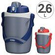水筒 サーモス(thermos) スポーツジャグ 2.6L 保冷 FPG-2600 ( 保冷 大容量 軽量 ハンドル付 スポーツボトル すいとう リットル ) abcdefg