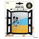 ウォールステッカー ウォールランプステッカー ミッキーマウス INDOORS LIGHT ディズニー