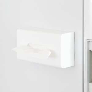 ティッシュホルダー マグネットボックスティッシュホルダー Mag-On 磁石 ( ティッシュケース ティッシュケースホルダー ティッシュペーパー 収納 キッチン収納 ティッシュペーパーボックスホルダー 冷蔵庫横 )