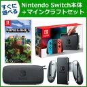 【4点セット】Nintendo Switch 本体+マインクラフトセット! 本体 ソフト 充電グリップ キャリングケース 【RCP】