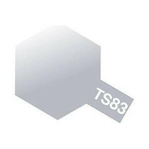 タミヤカラー TS-83 メタルシルバー(金属色) つやあり スプレー塗料(ミニ)【RCP】
