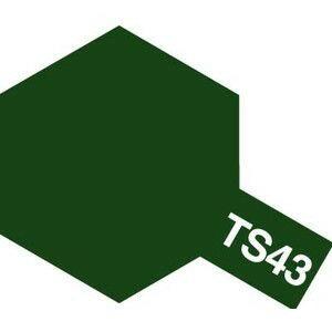 タミヤカラー TS-43 レーシンググリーン つ...の商品画像
