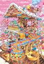ディズニー1000ピース  ディズニー おかしなおかしの家(D-1000-421)【ディズニーパズル】