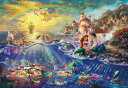 ディズニー1000ピース ディズニー リトル マーメイド THE LITTLE MERMAID (51x73.5cm)(D-1000-489)【ディズニーパズル】