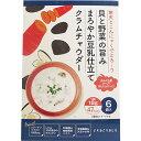 貝と野菜の旨み まろやか豆乳仕立て クラムチャウダー 18g×6袋入寒天 こんにゃく 蒟蒻 スープ 健康食品 チュチュル20_07サーチ