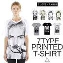 【スーパーSALE 20%OFF】 ELEVEN PARIS イレブンパリ レディース ケイトモス フランス グラフィックTシャツ ブランド