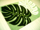 The refreshing monstera rug  65 X 115cm/ doorstep midyear gift year-end present room