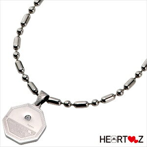 (ハーツネックレス・ブレスレット)HEARTZ ハーツ スーパーメタリック八角形ネックレス - 多くのTOPATHLETEに愛用されております。【smtb-s】