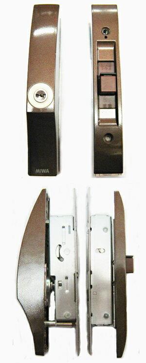 MIWA ディンプル形状 KEY 万能引違い戸錠の商品画像