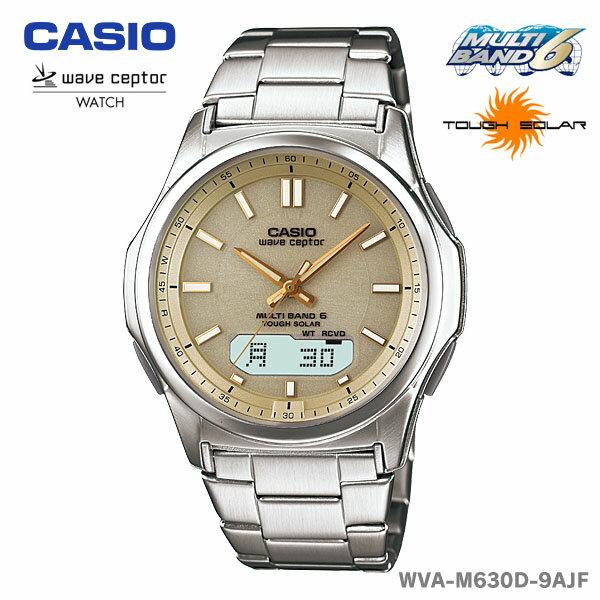 【送料無料】CASIO〔カシオ〕腕時計 ソーラー電波時計 WAVE CEPTOR WVA-M630D-9AJF【D】 [CAWT]16160 税込5,000円以上で送料無料