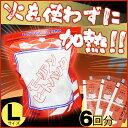 【6回分】加熱剤 発熱剤 加熱セットL KNS-L ガスや電...