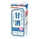 甘酒 1L あまざけ 米麹 すっきり 甘酒飲料 1000ml marusan アルコールゼロ 紙パック 6本 マルサンアイ