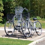 自転車スタンド BYS-3人気商品!自転車を3台スッキリ置ける♪風で倒れにくい!収納、庭、駐輪【アイリスオーヤマ】HC【e-net shop】【0530inba】 ★10★【RCP