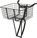 【 WALD/ウォルド 157 Giant Delivery Basket BK@11880 】 black 自転車 サイクル バスケット カゴ