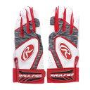 ローリングス Rawlings ユニセックス 野球 バッティング用手袋 USAスタイルバッティングテブクロ J00596118