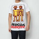 【アウトレット】デシグアル Desigual MAN KNIT T-SHIRT SHORT SLEEVE (White)
