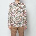 【アウトレット】デシグアル Desigual シャツ長袖 (ホワイト)