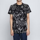 デシグアル Desigual Tシャツショート袖 (グレー/ブラック)