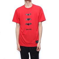 【アウトレット】スポルディング SPALDING バスケットボール 半袖Tシャツ Tシャツーバットマン スリーアイコン SMT190460の画像