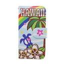 ショッピングiphone7 手帳型 【アウトレット】【kahiko】手帳型iPhone7用スマホケース Hawaiian その他5