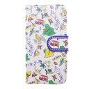 【アウトレット】【kahiko】手帳型iPhone6/6s用スマホケース Hawaiian アイボリー