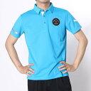 プーマ PUMA ゴルフシャツ ゴルフ SS ワイドカラー ポロシャツ 923332 ブルー (アトミック ブルー)