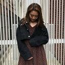 【アウトレット】アンビー ENVYM ショートジャケット (BLACK)