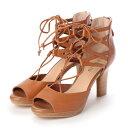 ショッピングLED 【アウトレット】アンタイトル シューズ UNTITLED shoes パンダル (ブラウン)