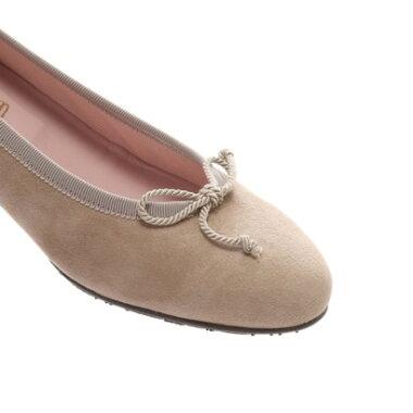 【アウトレット】プリティ・バレリーナ Pretty Ballerinas SALLY suede(サリー スエード)ウェッジソールシューズ(サンドベージュ)