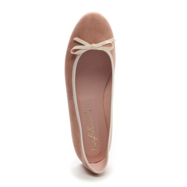 �ڥ����ȥ�åȡۥץ�ƥ����Х�꡼�� Pretty Ballerinas MARILYN suede grosgrainribbon�ʥޥ��� �������� ���?����ܥ�˥Х쥨���塼���ʥԥ󥯥١������