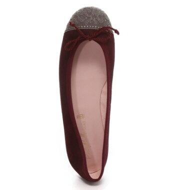 �ڥ����ȥ�åȡۥץ�ƥ����Х��� Pretty Ballerinas ROSARIO suede antiquelace�ʥ?�ꥪ �������� ����ƥ������졼���˥Х쥨���塼���ʥ��祳�졼�ȡ�