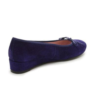 �ڥ����ȥ�åȡۥץ�ƥ����Х��� Pretty Ballerinas LINDSAY platform suede�ʥ�� �ץ�åȥե����� �������ɡ˥ҡ����դ��Х쥨���塼���ʥ���ǥ�����