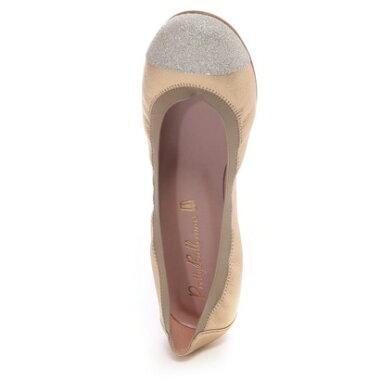 �ڥ����ȥ�åȡۥץ�ƥ����Х��� Pretty Ballerinas SHIRLEY sandglitter-metallic�ʥ��㡼�������ɥ���å���-���å��˥Х쥨���塼���ʥ�����ɡ�