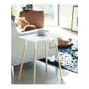 ショッピングサイドテーブル plain (プレーン) サイドテーブル角型 WH (ホワイト(001))