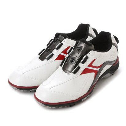 ティゴラ TIGORA ダイヤル式ゴルフシューズ TR-OS1015WR 381 ホワイト (ホワイト×レッド) 【】【交換・返品可能】/ティゴラ/TIGORA/ゴルフ/ゴルフシューズ/ロコンド/
