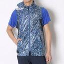 オークリー OAKLEY ゴルフベスト Skull Transparent Mesh Vest 461438JP ブルー (Blue Print)