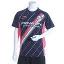 ペナルティ PENALTY ジュニアサッカープラクティスシャツ ジュニアプラクティスシャツ PU680AP ネイビー (ネイビー)