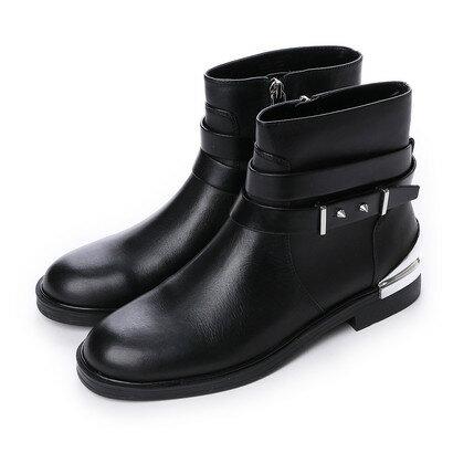 チャールズ & キース CHARLES & KEITH Ankle Boot Flats (Black) 【返品送料無料】【あす楽】【交換可能】/チャールズ アンド キース/CHARLES & KEITH/シューズ/ブーツ/ロコンド/