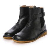 ホッコ HOCCO 【HC】 レザー アウトステッチ切替ブーツ (BLK)