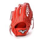 ミズノ MIZUNO BSS ユニセックス 軟式野球 野手用グラブ ミズノプロイチローモデル 1AJGR15017 (オレンジ)