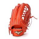 ミズノ MIZUNO BSS ユニセックス 軟式野球 野手用グラブ グローバルエリートイチローモデル 1AJGR15117 (オレンジ)