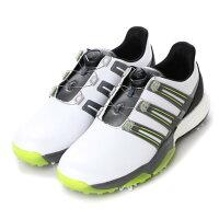 アディダス adidas メンズ ゴルフ ダイヤル式スパイクシューズ パワーバンド ボア ブースト Q44848 808の画像
