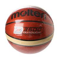 モルテン molten メンズ バスケットボール 練習球 アウトドアバスケットボール B7D3500の画像